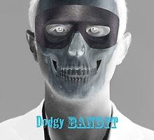 Dodgy Bandit Skully Blue by dodgybandit
