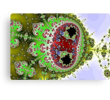 Distorted Multibrot Twins Canvas Print