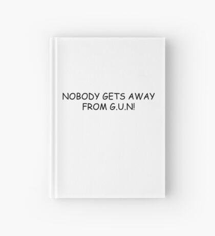 NOBODY GETS AWAY FROM G.U.N! Hardcover Journal