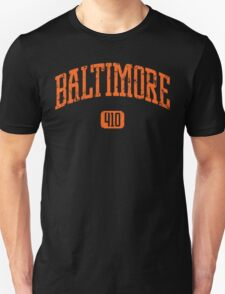 Baltimore 410 (Orange Print) T-Shirt