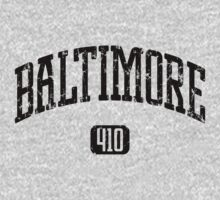 Baltimore 410 (Black Print) by smashtransit