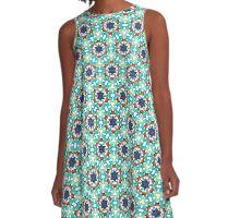 Star Mosaic A-Line Dress
