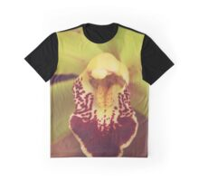 Yellow Orchid Graphic T-Shirt