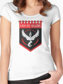 House Valor Women's Fitted Scoop T-Shirt