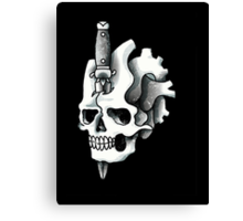 Cloud Nothings skull and dagger Canvas Print