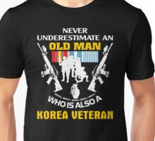 Korean War Veteran Shirt - Best Gift For Veteran Day Unisex T-Shirt