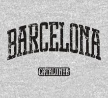 Barcelona (Black Print) by smashtransit