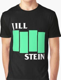 Jill Stein (Black Flag style) Graphic T-Shirt