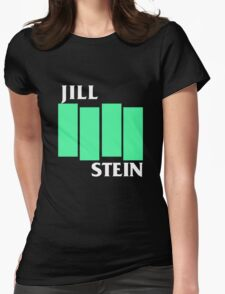 Jill Stein (Black Flag style) Womens Fitted T-Shirt