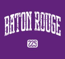 Baton Rouge 225 (White Print) by smashtransit