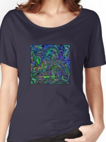 Abstract Beauty - A Rainbow of Dark and Light Women's Relaxed Fit T-Shirt