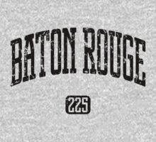 Baton Rouge 225 (Black Print) by smashtransit