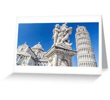Pisa. Greeting Card