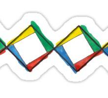OB Minimalist DNA Strand Sticker