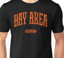 Bay Area Represent (Orange Print) Unisex T-Shirt