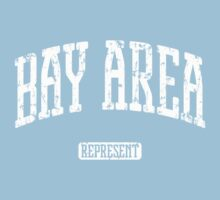 Bay Area Represent (White Print) One Piece - Short Sleeve