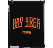 Bay Area Represent (Orange Print) iPad Case/Skin