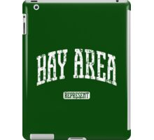 Bay Area Represent (White Print) iPad Case/Skin