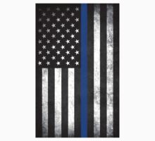 Thin Blue Line Kids Tee