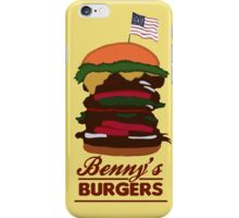 Benny's Burgers iPhone Case/Skin
