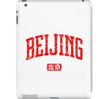 Beijing (Red Print) iPad Case/Skin