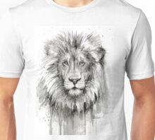 Lion Watercolor Painting Unisex T-Shirt