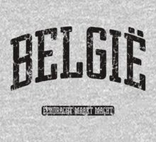 België (Black Print) by smashtransit