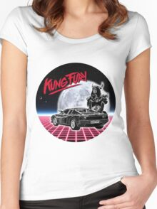 MOON FURY Women's Fitted Scoop T-Shirt