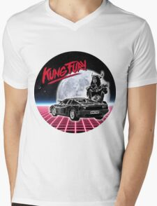MOON FURY Mens V-Neck T-Shirt