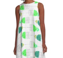 More Fish in the Sea A-Line Dress