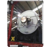 504 engine iPad Case/Skin