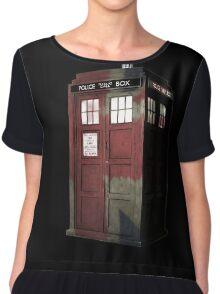 UK Doctor Who Chiffon Top