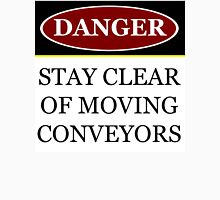Danger stay clear of moving conveyor construction sign vector png Women's Tank Top