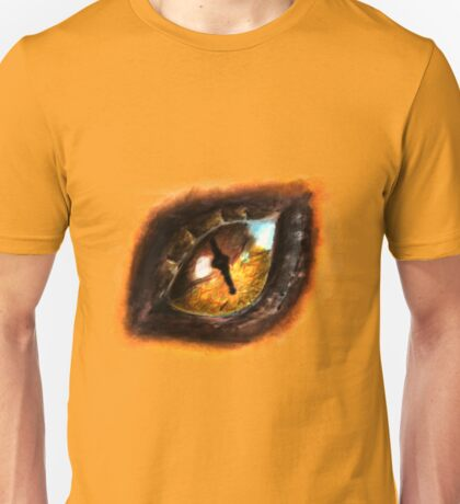 Fire Dragon Eye Unisex T-Shirt