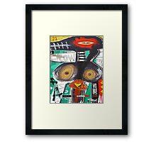 crowshe Framed Print