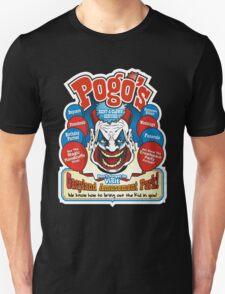 Pogo's Rent a Clown Service and Gacyland Amusement Park Unisex T-Shirt