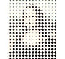 Mona Lisa Dots Photographic Print