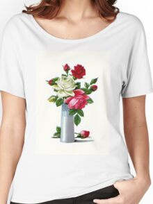 Vintage Roses Women's Relaxed Fit T-Shirt