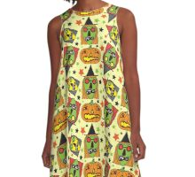 Witchy Poo A-Line Dress