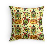 Witchy Poo Throw Pillow