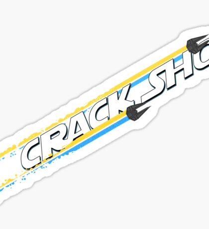 Crack Shot Sticker