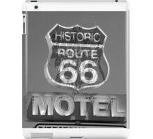 Route 66 motel sign iPad Case/Skin