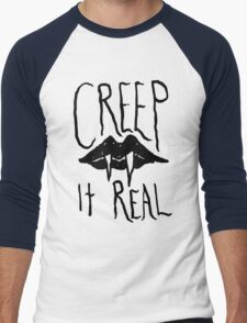 Creep It Real Men's Baseball ¾ T-Shirt