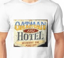 Oatman Arizona Hotel sign Unisex T-Shirt