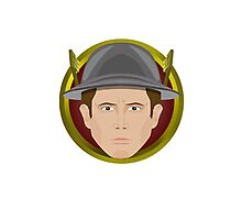The Flash: Jay Garrick Emblem Photographic Print