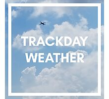 Track Day Weather Photographic Print