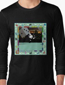 Monopoly Retro Game Board Long Sleeve T-Shirt