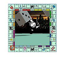 Monopoly Retro Game Board Photographic Print