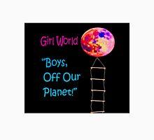 Girl World Mens V-Neck T-Shirt