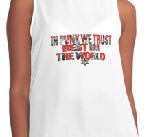 CM Punk- In Punk We Trust Edit Contrast Tank